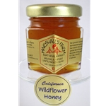 Honey 2 oz. Party Favor Glass Jar - California Wildflower